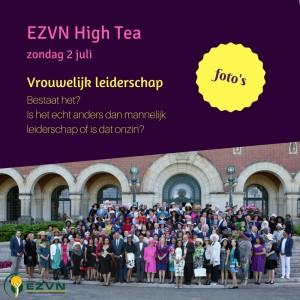 Foto's EZVN High Tea 2017